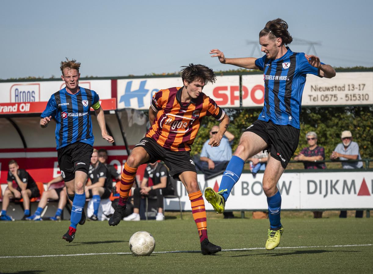 Het eerste team van FC Zutphen, afgelopen weekend in actie. Foto ter illustratie.
