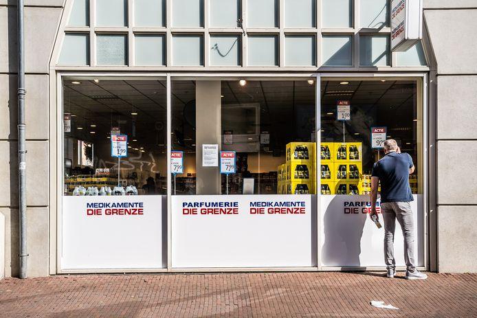 Die Grenze is een van de prijsvechters die onlangs neerstreek in het Musiskwartier in de Arnhemse binnenstad.