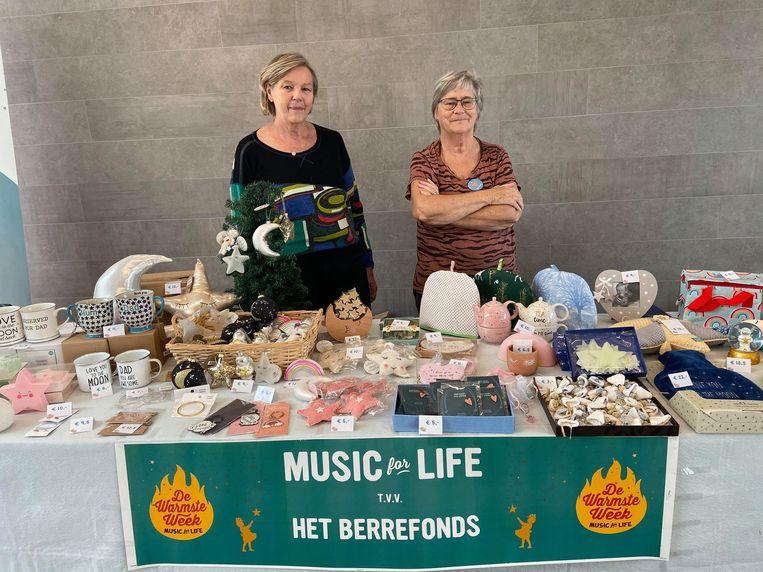 Grootmoeders van Berre Jeanine De Muyt (links) en Nicole Reynders (rechts).