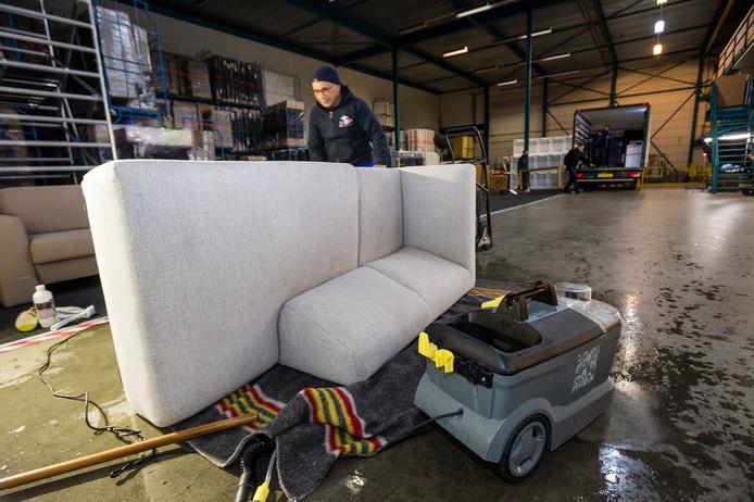 Na een verhuurperiode worden alle meubels gereinigd en opgeknapt om de levensduur te verlengen.