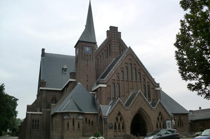 De kerk in Hoeven is al sinds 1400 toegewijd aan Jan de Doper.