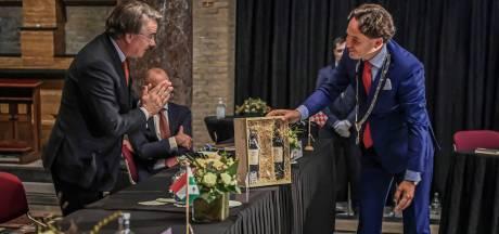Bernd Roks op een bijzondere wijze als burgemeester van Halderberge geïnstalleerd