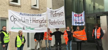 Demonstranten zijn tegen windmolens: 'Waarom moet Bronckhorst het braafste jongetje van de klas zijn?'