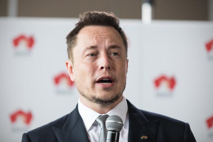 Tesla-oprichter Elon Musk