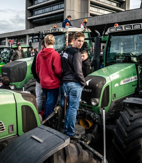 Brabantse boeren trekken vrijdag opnieuw met tractors naar provinciehuis