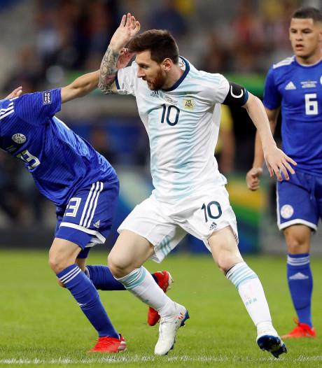 Argentinië ontsnapt aan tweede nederlaag op Copa América