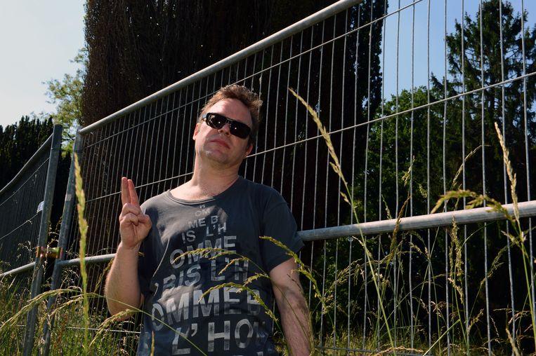 Filip Steeno aan de Keizersbergabdij.