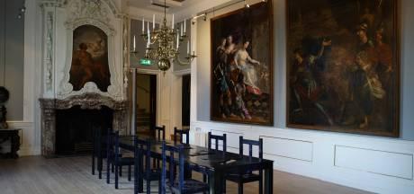 Serie wandschilderingen komt 'thuis' in Kasteel het Nijenhuis