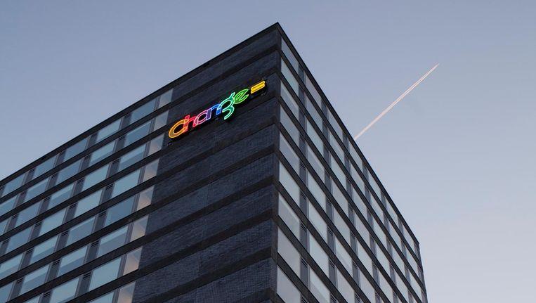 De studio's dragen nog het logo van beheerder Change=, maar zijn eigendom van beleggers geworden. Beeld Maarten Boswijk