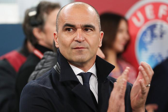 Le sélectionneur Roberto Martinez