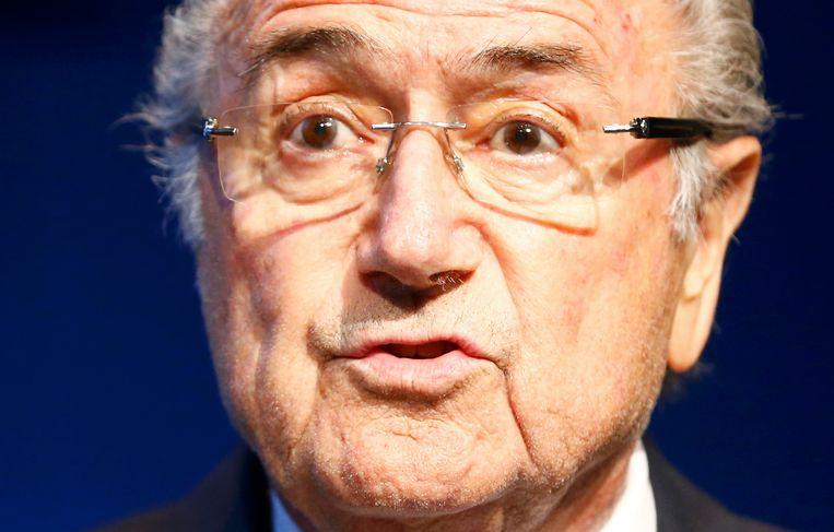 Sepp Blatter. Beeld reuters