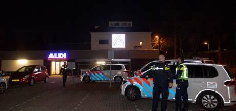 Overval op Aldi in Tilburg, dader gevlucht