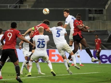 ManUnited pas na verlenging langs FC Kopenhagen