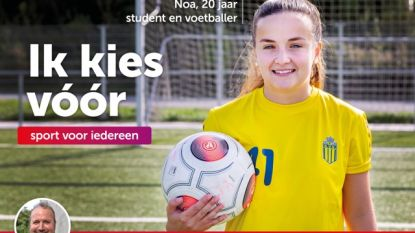 Inwoners van Zottegem kleuren verkiezingsaffiches van sp.a