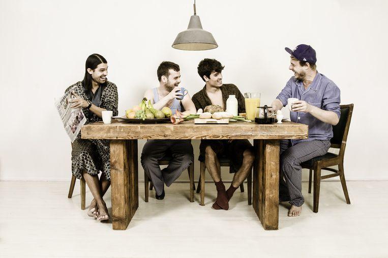 De mannen achter Breakfast Club Beeld Marjan Schonenberg