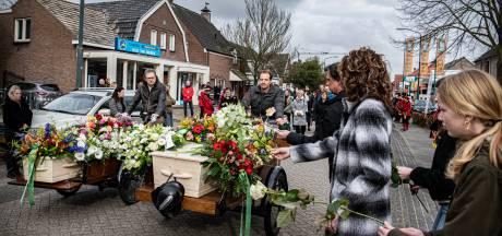 Wel stoppen, maar niet uitstappen bij drive-in condoleance in Vianen
