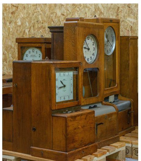 Ingenieursprijs voor verzameling prikklokken Industrieel Museum Sas van Gent