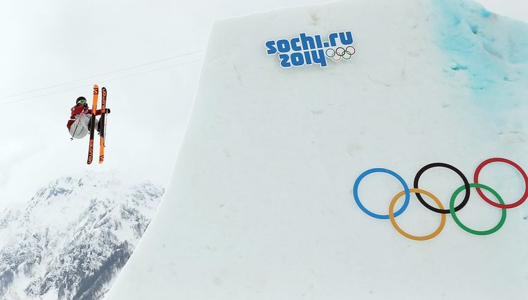 De Canadese Dara Howell won gisteren goud op de slopestyle Beeld EPA