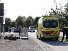 Motorrijder gewond bij botsing met auto in Haps