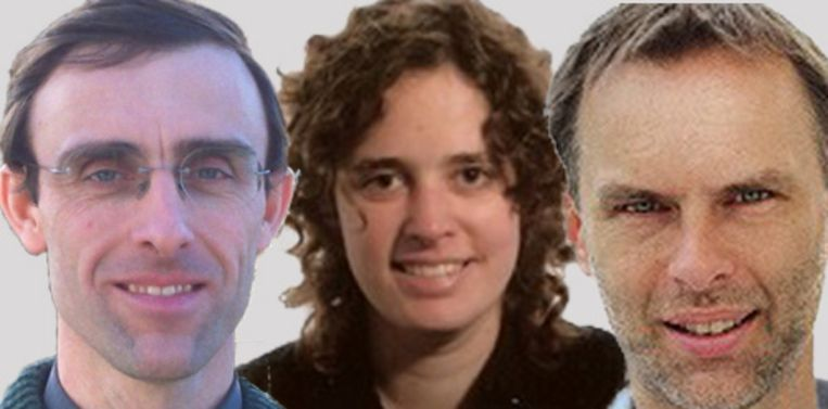 Stefaan De Smet, Ilse Fraeye en Frédéric Leroy.