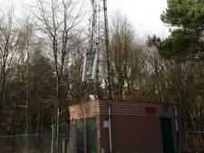 Mast omroep Berg en Dal geknakt