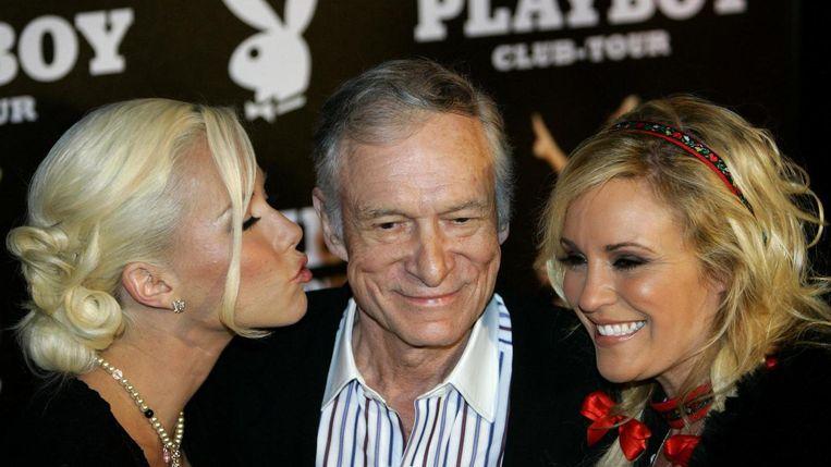 Hugh Hefner in 2006. Beeld reuters