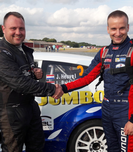Bob de Jong komt in GTC Rally met grote voorsprong uit de Nacht van Achtmaal