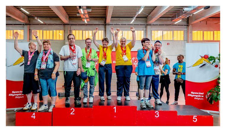 De atleten van Sportclub Druivenstreek behaalden onder meer goud in het bocce.