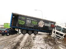 'Deze truck brengt geluk', maar nu even niet...