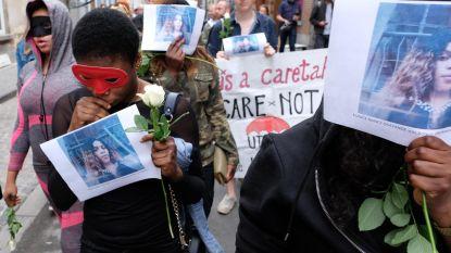 Stille mars voor vermoorde sekswerker
