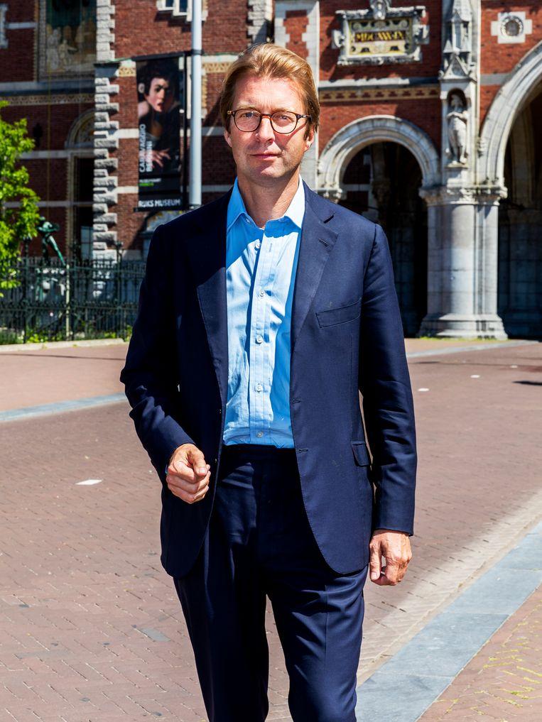 Taco Dibbits (51) is sinds juli 2016 hoofddirecteur van het Rijksmuseum.  Beeld Marie Wanders