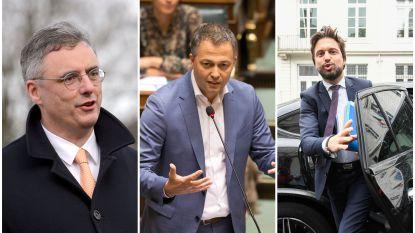 """Voorzitters CD&V, Open Vld en MR starten formatiegesprekken en gaan op zoek naar """"bijkomende partners"""", minderheidsregering van de baan"""