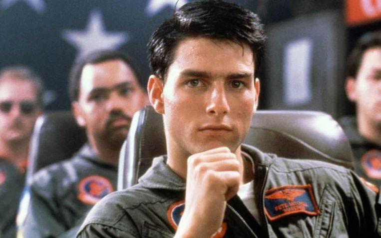Tom Cruise in Top Gun van Tony Scott. Beeld