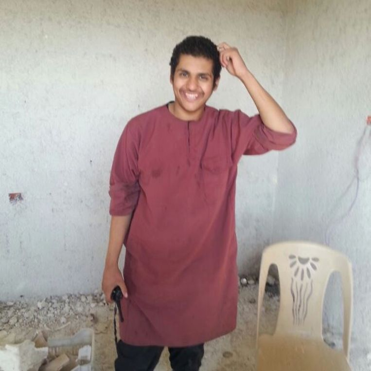 Syriëstrijder Abdellah Nouamane, aka Abu Jihad al-Belgiki.