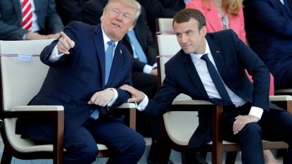 Macron ontmoet Trump in New York