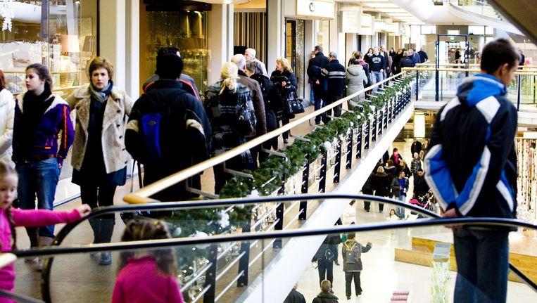 Winkelcentrum Alexandrium in Rotterdam. © ANP Beeld