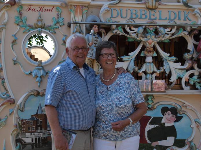 Huug van Leeuwen (85) en Tine van Griethuizen (81) waren onlangs 60 jaar getrouwd.