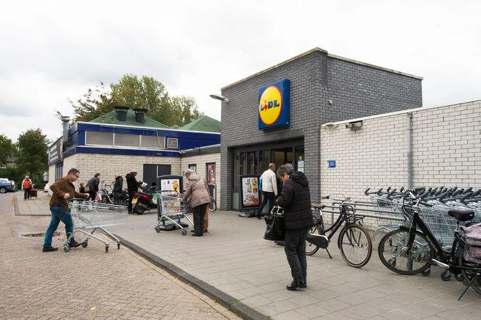 De Lidl in Waalwijk verhuist binnenkort. De rechter steekt geen stokje voor de tijdelijke verplaatsing van de supermarkt.