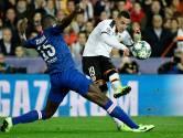 Heerlijk voetbalgevecht tussen Valencia en Chelsea levert geen winnaar op