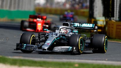Hamilton domineert in eerste en tweede vrije oefenritten GP Australië