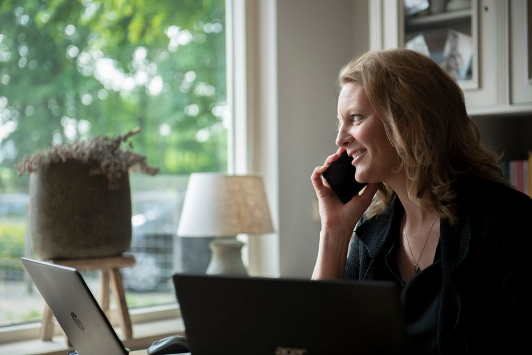 Zzp'er Monique van Koppenhagen: 'Hoe hard ik ook werkte, het lukte  mij niet om zelf uit de schulden te komen.' Beeld