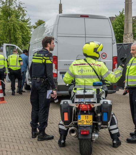 Grote verkeerscontrole in Malden: 'Maar ik verwachtte ook geen politie'
