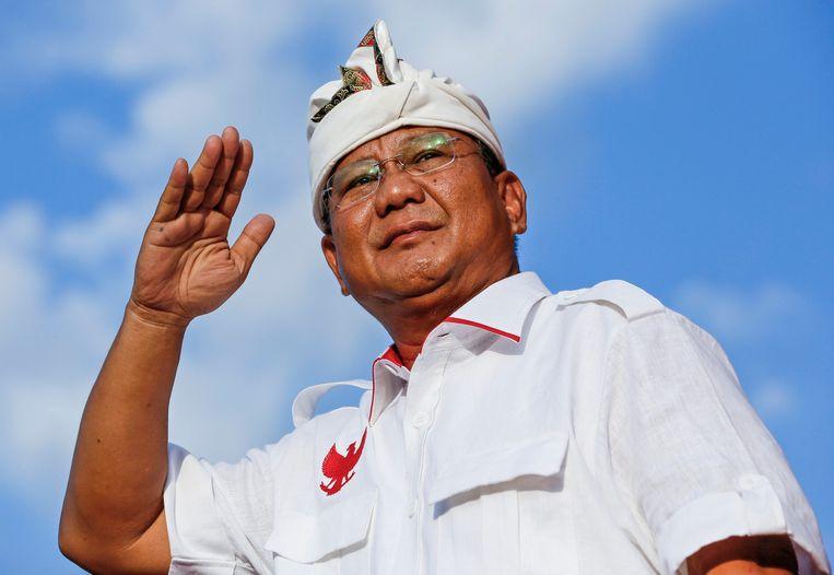 Prabowo Subianto Beeld EPA