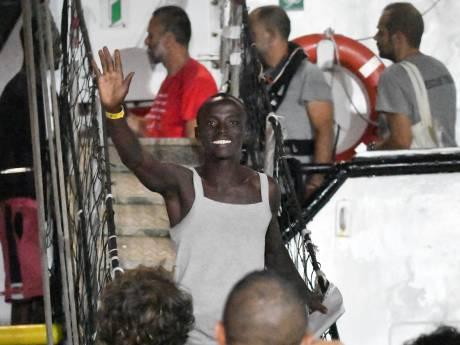 Les migrants de l'Open Arms sont arrivés à Lampedusa