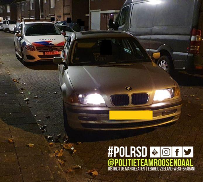 De politie hield vrijdagavond een dief aan. Hij zou stroomkabels hebben gestolen.