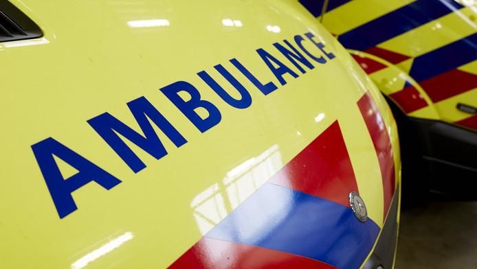 De slachtoffers werden met ambulances naar het ziekenhuis gebracht