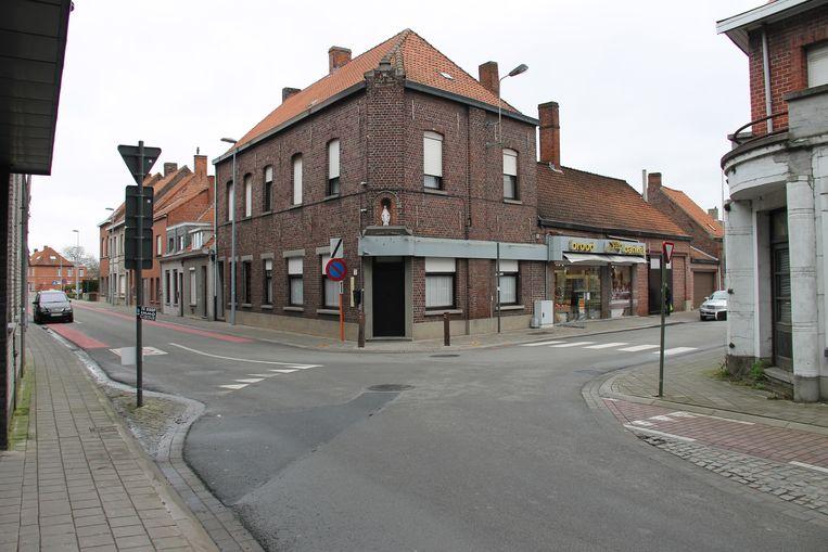 De Weststraat in Ingelmunster.
