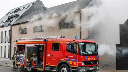 Elektrisch vuur zet woning in lichterlaaie