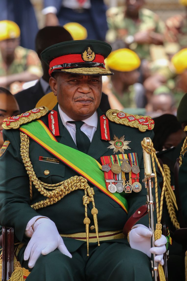 Generaal en latere vicepresident Constantino Chiwenga Beeld Getty Images