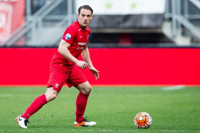 Robbert Schilder in het shirt van FC Twente.